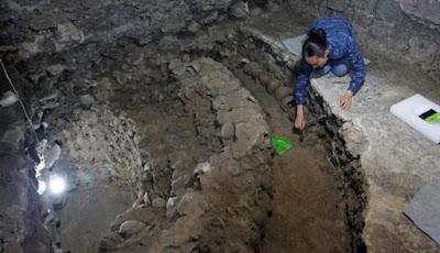 Ngeri, Menara Aztec Penuh Tengkorak Ditemukan di Meksiko