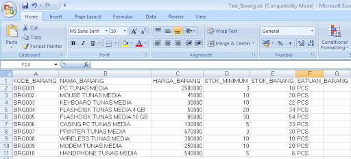 Cara Convert Database SQL Server ke Excel