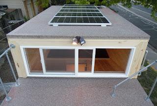 Tiny House Man Cave for Tiny Homes Solar