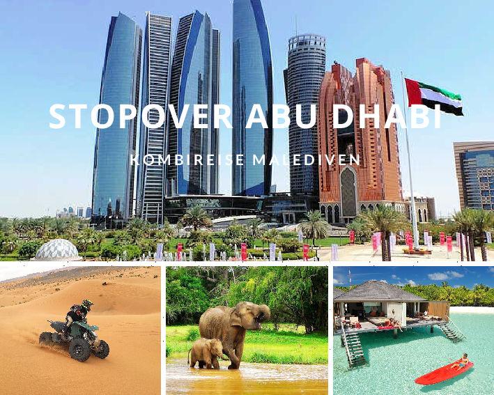 Kombireise Malediven mit Stopover Abu Dhabi