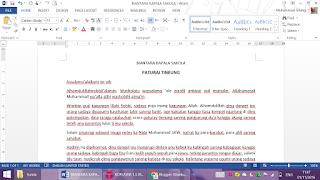 Naskah Biantara Paturay Tineung By Mugi Gilankun