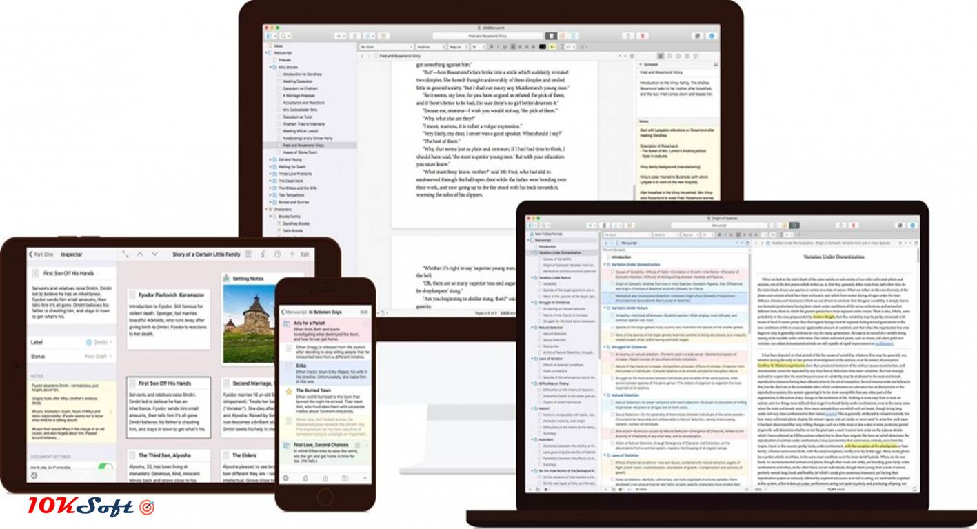 Scrivener Offline Installer Setup Download