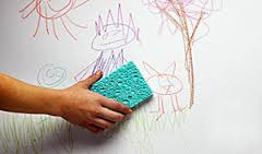 Tinta  de parede lavável crianças
