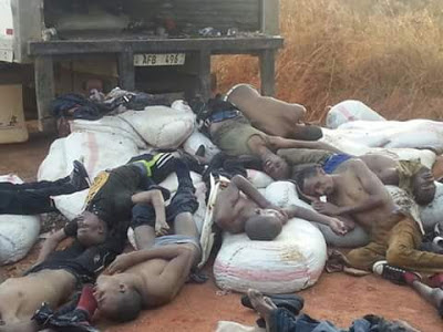 Graphic: Foreign Nationals Found Dead In A Truck In Zambia Ahead Of General Elections