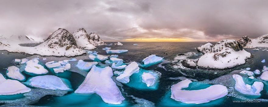 Cold Yet Beautiful Photos Of Antarctica Taken By Airpano