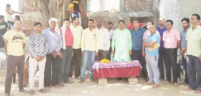inld leader umesh bhati attack on m.p gurjar and mla nagar
