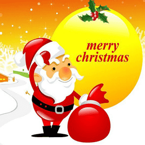 Merry Christmas Wishes DP