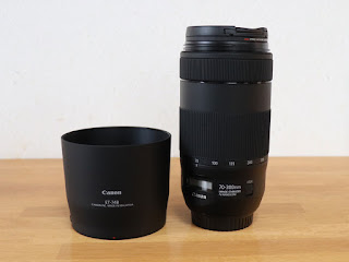 Canon LENS HOOD ET-74B + EF70-300mm F4-5.6 IS II USM