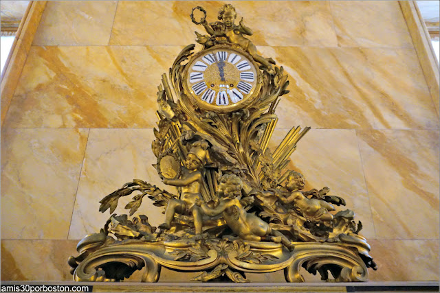 Reloj del Pasillo de Marble House, Newport