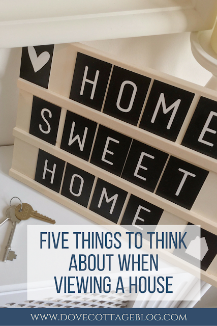 The top five questions and things you should be thinking about when viewing a property house or home for the first time. From location, how long you can stay in the house, budget and how to look beyond the decor.