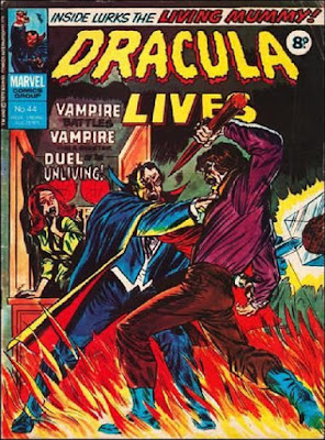 Marvel UK, Dracula Lives #44