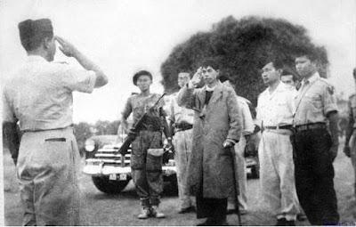 Panglima Besar Jenderal Soedirman Pulang Gerilya