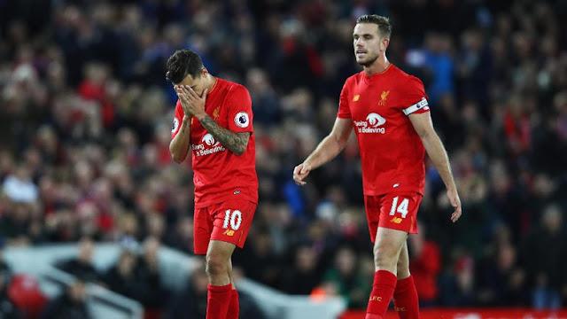 Frustrasinya Liverpool