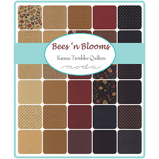 Moda Bees 'n Blooms Fabric by Kansas Troubles Quilters for Moda Fabrics