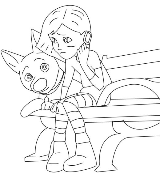 "free printable disney bolt "" dog "" cartoon coloring pages"