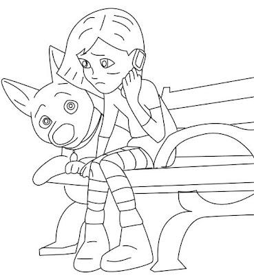 Free Printable Disney Bolt Quot Dog Quot Cartoon Coloring Pages