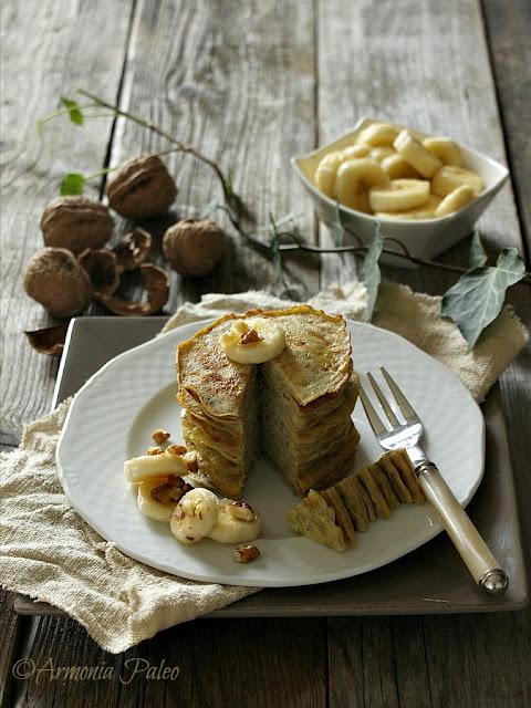 Pancakes di Banana di Armonia Paleo
