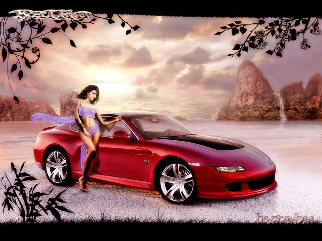 girls and cars pics - photo #39