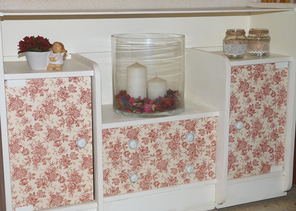 Renovar mueble de recibidor isabel vintage - Renovar muebles antiguos ...