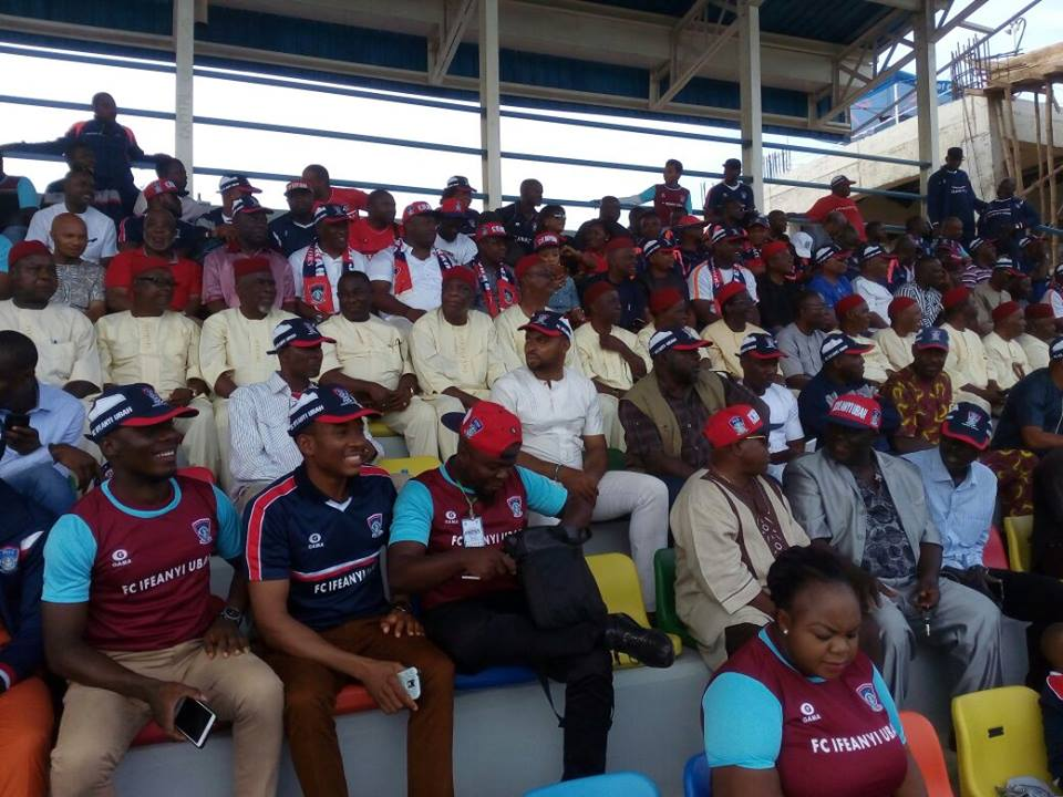 SPORTS/FOOTBALL: DR  PATRICK UBAH THANKS THE FANS OF HIS