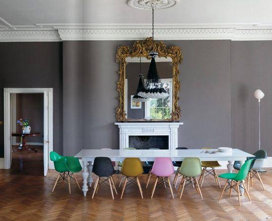 De andar por casas gama de grises para tus paredes - Muebles grises paredes color ...