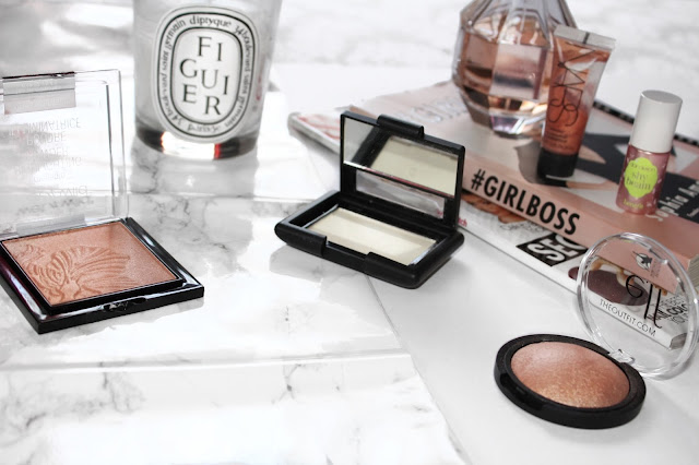 Highlighters for glowy skin