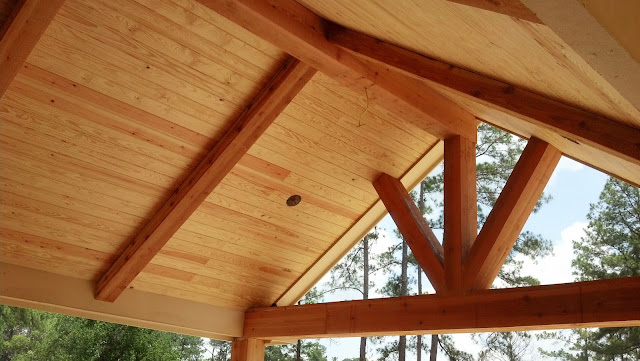 Tongue & Groove Pine Ceiling