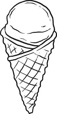 Gambar Mewarnai Ice Cream - 11