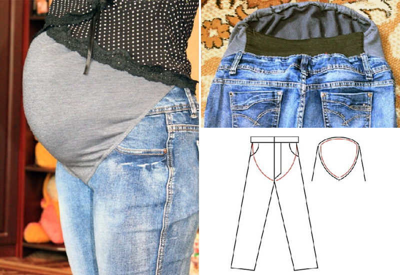 How to sew pants for pregnant