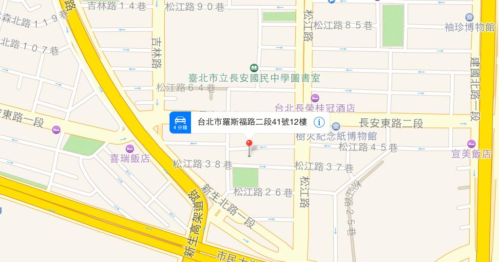 apple map 網頁 版
