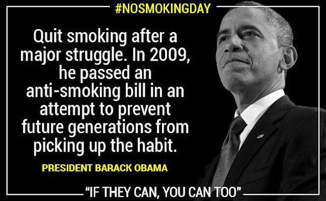 No Smoking President Barack Obama