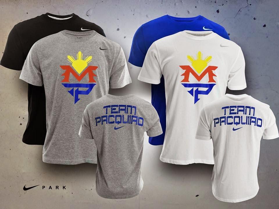 2437fa659b3a Team Pacquiao Shirts available at Nike Park