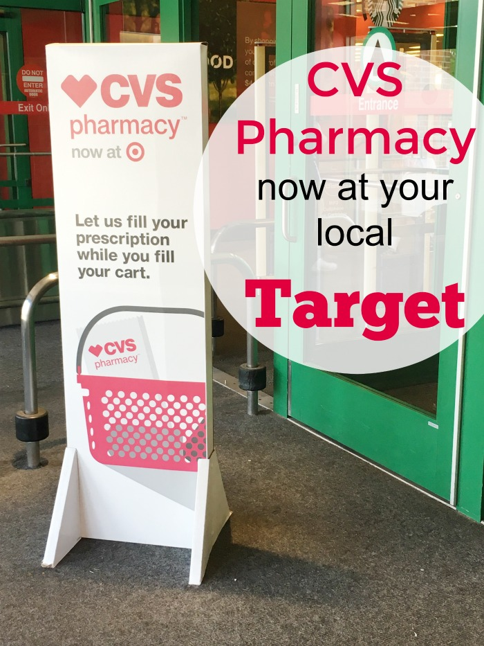 Find your favorite CVS Pharmacy now at your local Target