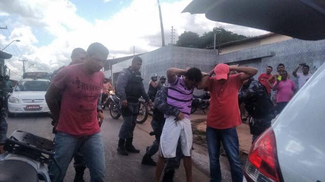 POLÍCIA: Recambiados para Caxias trio que assaltou Correios em Timon