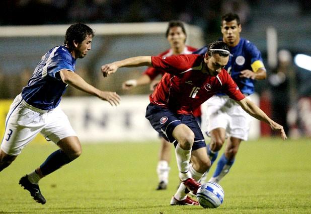 Chile y Paraguay en partido amistoso, 15 de noviembre de 2006