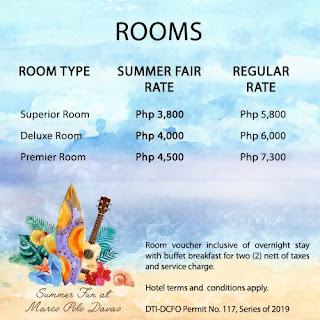 Summer 2019 deals at Marco Polo Davao
