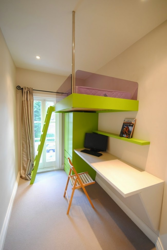 Dormitorios juveniles poco espacio dormitorios juveniles - Dormitorios juveniles con poco espacio ...