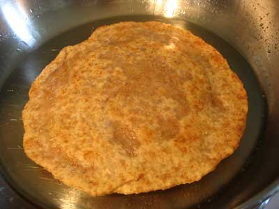Cooking the Parathas