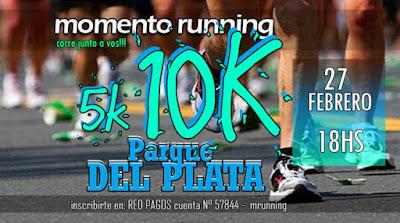 10k y 5k Parque del Plata corre (Canelones, 27/feb/2016)