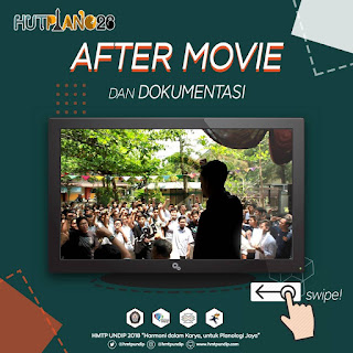 After Movie dan Dokumentasi HUT PLANO 2018