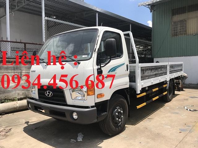 Xe tải Hyundai 110s 7 tấn thùng lửng
