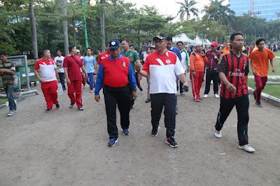 Wakil Walikota Imbau Warga Jaga Kebersihan Lapangan Merdeka