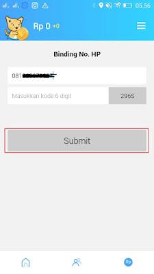 cara verifikasi nomor hp di aplikasi reward plus