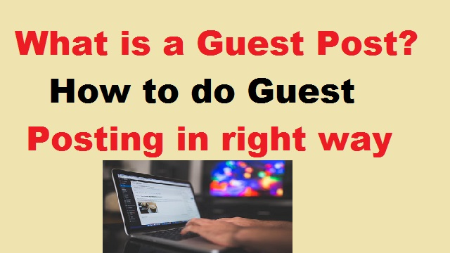 What is Guest Post?
