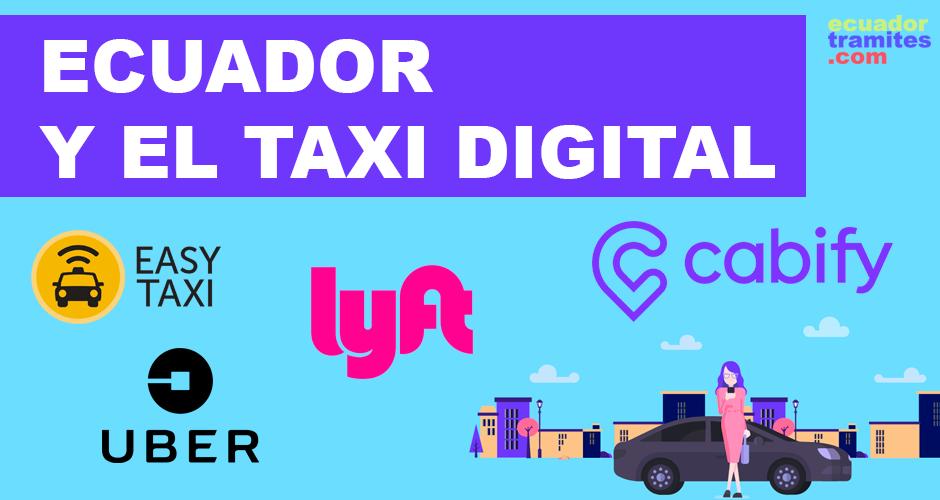 ecuador y el taxy digital
