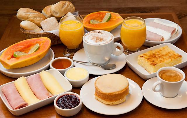 Blog Achados de Decoração, decoração de mesa de café da manhã