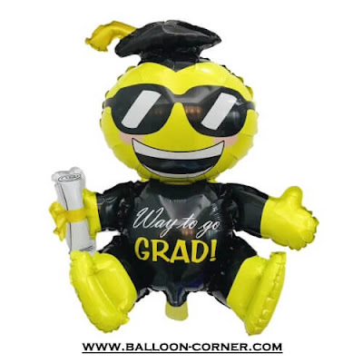 Balon Foil Way To Go GRAD