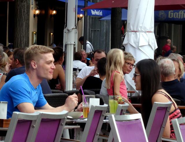 Outdoor cafe scenes