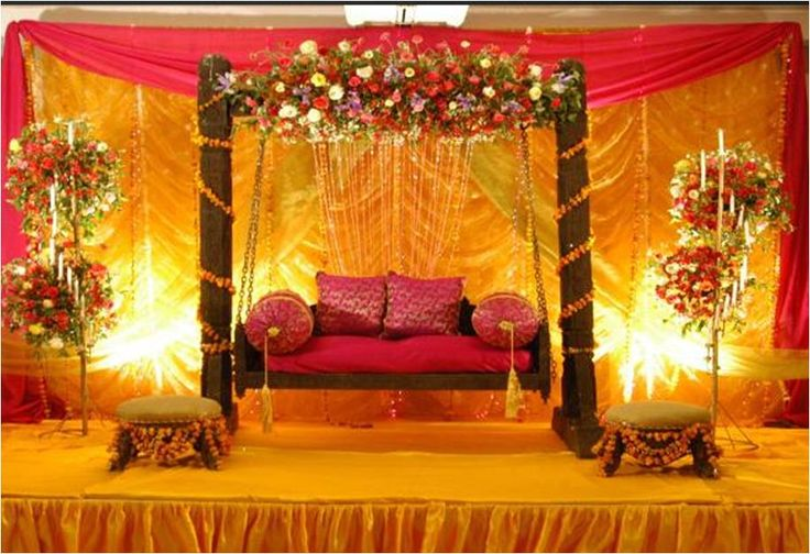 Stage Decoration Mehndi Function Mehndi Dresses