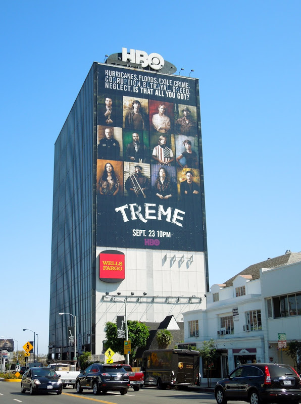 Giant Treme season 3 billboard Sunset Strip